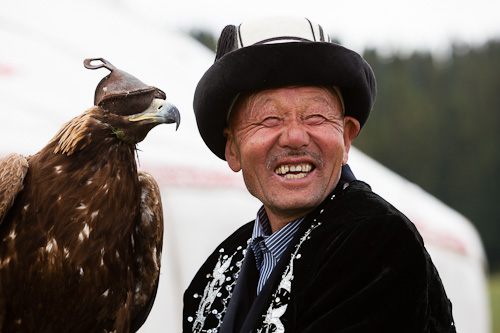 Golden Eagle used for hunting